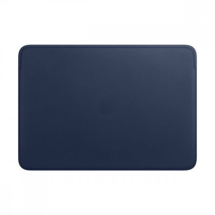 Leather Sleeve for 16-inch MacBook Pro – Midnight Blue