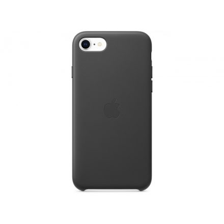 Apple iPhone SE2 Leather Case - Black