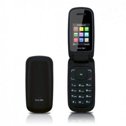 """Beafon C220 Dual SIM Összecsukható 1,8""""LCD mobiltelefon kamerával, fekete"""