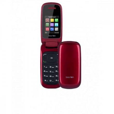"""Beafon C220 Dual SIM Összecsukható 1,8""""LCD mobiltelefon kamerával, piros"""