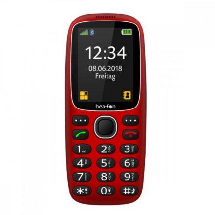 "Beafon SL360 SLIM ergonómikus mobiltelefon, 2,4""LCD , kamerás, piros"
