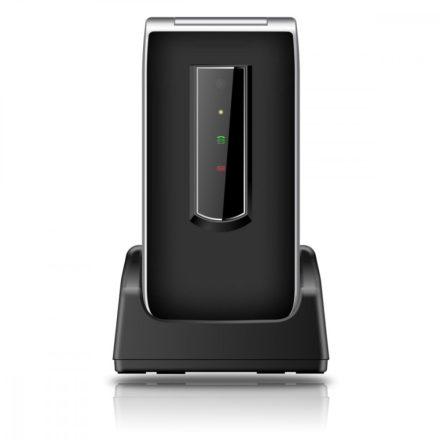 """Beafon SL495 összecsukható  ergonómikus 2,4""""LCD telefon, kamerával, M1/M2, külső LED-sor"""