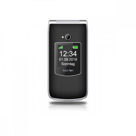 Beafon SL595 összecsukható  ergonómikus mobiltelefon, külső -belső kijelzővel, kamerával, M1/M2 , fekete