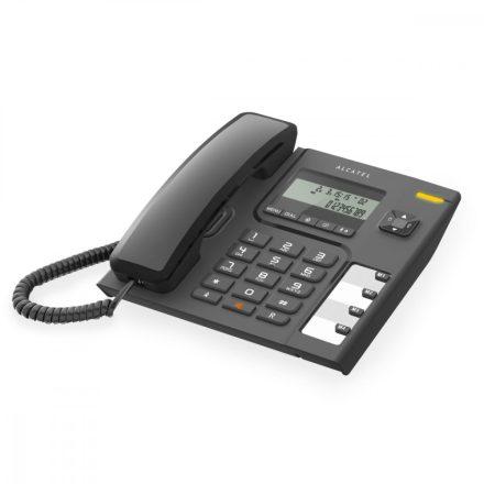 Alcatel T56 LCD kijelzős vezetékes telefon, fekete