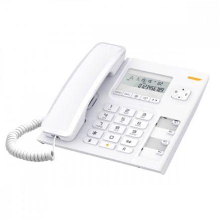 Alcatel T56 LCD kijelzős vezetékes telefon, fehér