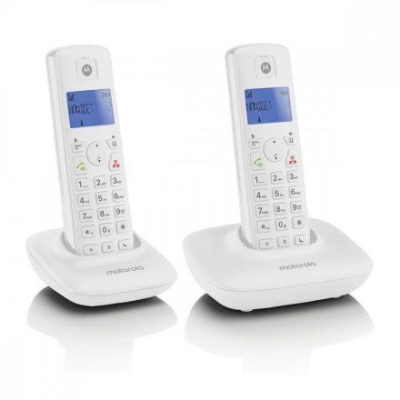 Motorola T402 Duo Dect telefon, fehér