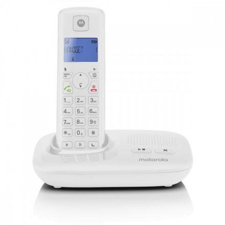 Motorola T411  üz.rögz. Dect telefon, fehér