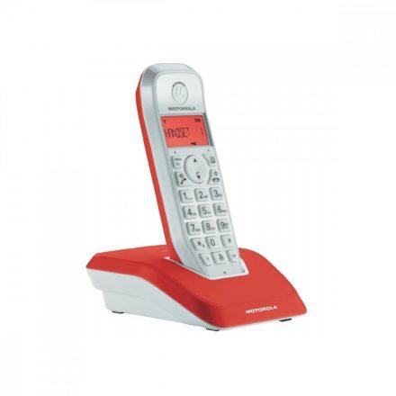 Motorola Startac S1201 Dect telefon, piros